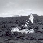 Выставка «Первая колея на Луне» фотографии