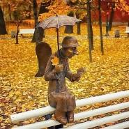 Скульптура «Петербургский ангел» фотографии