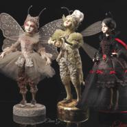 Выставка авторских кукол «Вне времени и границ» фотографии