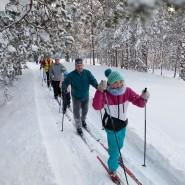 Массовые лыжные старты «Лыжные стрелы-2019» фотографии