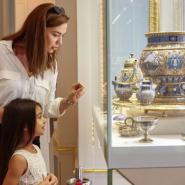 Детские программы в музее Фаберже октябрь 2021 фотографии