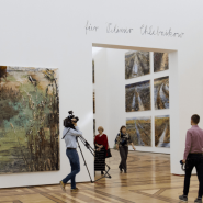 Выставка «Ансельм Кифер – Велимиру Хлебникову» фотографии