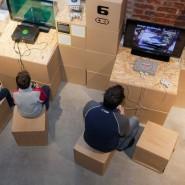 Интерактивная выставка культовых компьютерных игр и приставок «Level up!» фотографии