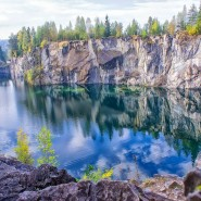 «Чудеса мраморного каньона Рускеала» тур 1 день в Карелию фотографии