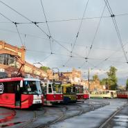 Музей электрического транспорта фотографии