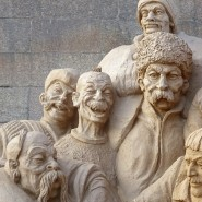 Фестиваль песчаных скульптур-2018 «Мировые шедевры» фотографии