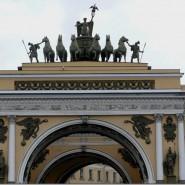 Здание Главного штаба и Триумфальная арка Главного штаба фотографии