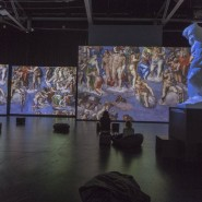 Выставка «Микеланджело. Сотворение мира» фотографии