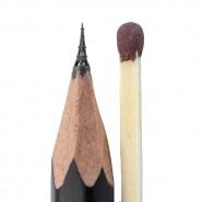 Выставка микроскульптур Салавата Фидаи «На кончике карандаша» фотографии