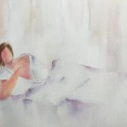 Женские образы на выставке в галерее Мольберт фотографии