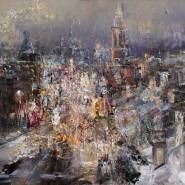 Выставка живописи Романа Ляпина «Основание» фотографии