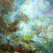 Выставка живописи «Экспрессия цвета» фотографии