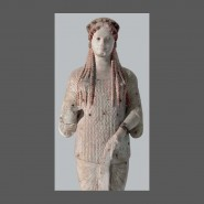 Выставка «Архаическая статуя Коры» фотографии