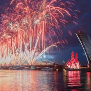 Ночной круиз «Алые паруса-2021» фотографии