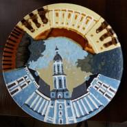 Выставка «Сто тарелок» фотографии