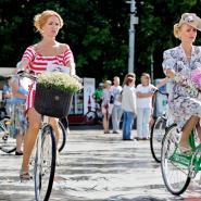 Женский велопробег «BEAUTY CYCLE RUN» фотографии