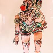 Выставка  «Игра света и тени: южноиндийский традиционный театр «толпава кутху» фотографии