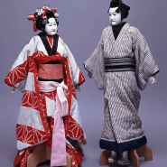 Выставка «Японские куклы» фотографии