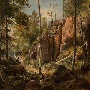 Выставка «Валаам: 200 лет в русской живописи» фотографии