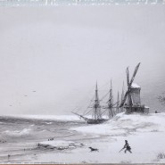 Выставка картин Ивана Айвазовского в Кронштадте фотографии