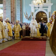 Патриаршее богослужение в Петропавловском соборе 2017 фотографии