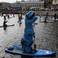 Международный фестиваль SUP-серфинга «Фонтанка-SUP» 2019 фотографии