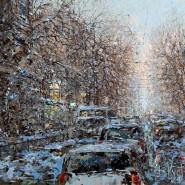 Рождественская выставка в Галерее Кустановича 2020 фотографии