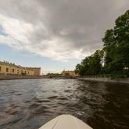 Прогулка на катере без капитана в Санкт-Петербурге фотографии