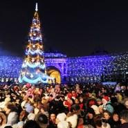 Новогодняя ночь 2018 в Санкт-Петербурге фотографии