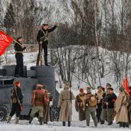 Военно-историческая реконструкция «За Петроград» 2017 фотографии