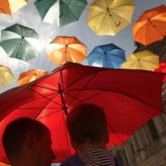 «Аллея парящих зонтиков — 2018» фотографии