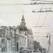Выставка «Графитный и гранитный» фотографии