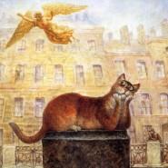 Выставка «Коты Петербурга» фотографии