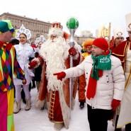 Парк ледовых скульптур на Московской площади 2018 фотографии