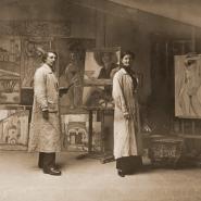 Выставка «Русский авангард из Норвегии. Ксан и Юлия Крон» фотографии