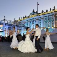 Бальные танцы на стрелке Васильевского острова 2017 фотографии