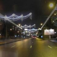 Новогоднее украшение Московского района фотографии