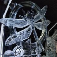Фестиваль ледовых скульптур «ICE FANTASY-2020» в Петропавловской крепости фотографии