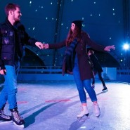 Открыт сезон Ночных катаний в парке Сказок 2020/21 фотографии
