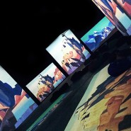 Выставка «Рерих – живые полотна» фотографии