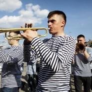 Праздник «День Российской тельняшки» в Санкт-Петербурге 2017 фотографии