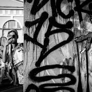 Поэтический перформанс «Стихи на стенах» фотографии