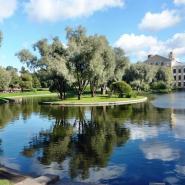 Сад «Дворца Юсуповых» фотографии