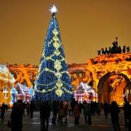 Световое шоу на Дворцовой площади 2016 фотографии