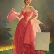 Выставка «Пин-ап. Девушка с обложки» фотографии