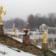 Театрализованный весенний праздник фонтанов в Петергофе 2017 фотографии