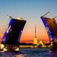 Начало технологических разводок петербургских мостов 2020 фотографии