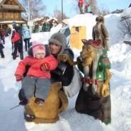 Масленица в деревне Шуваловка фотографии