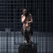 Выставка «Христос в темнице» фотографии