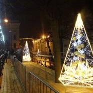 Рождественская ярмарка в историческом центре Санкт-Петербурга 2020 фотографии